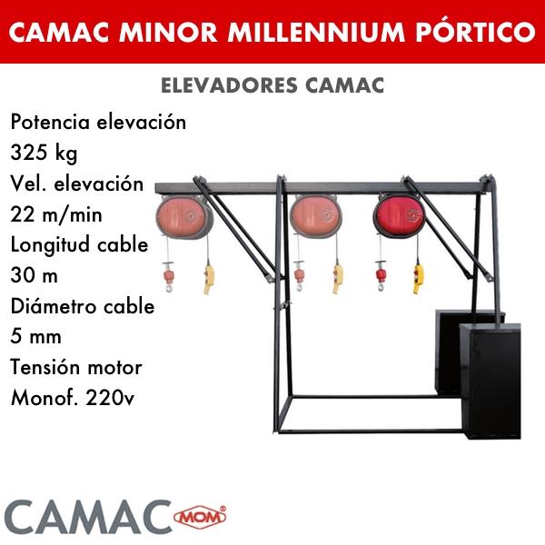 Montacargas Camac MINOR MILLENNIUM PÓRTICO