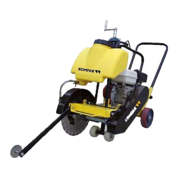 cortadora de asfalto y hormigon Kompak CFC-14