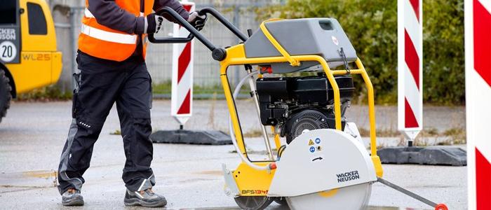 cortadoras de asfalto y hormigon